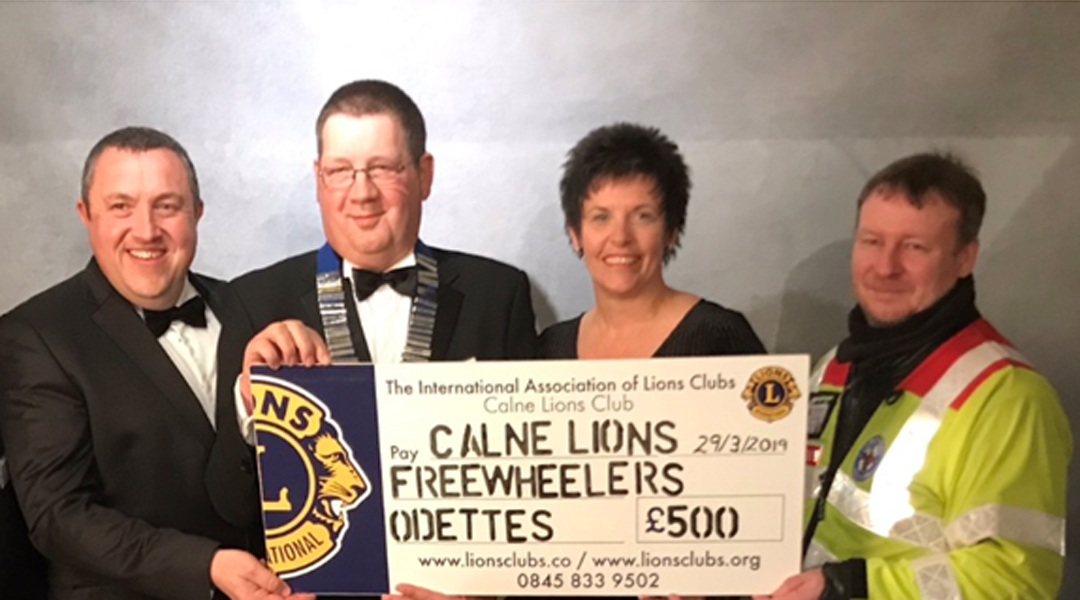 Calne Lions donation