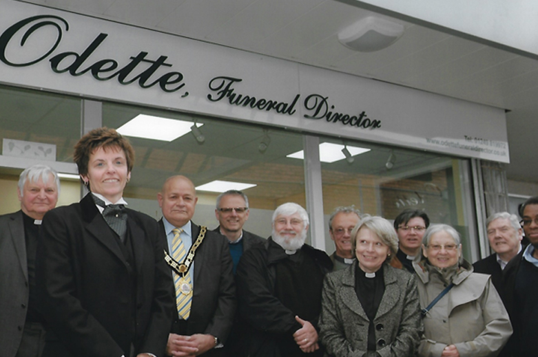 Opening of Odette Funeral Directors in Calne